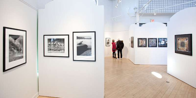 In Front of the Lens, 2013, installation view