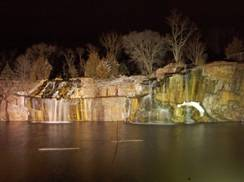 Image for Montello Granite Quarry Waterfalls