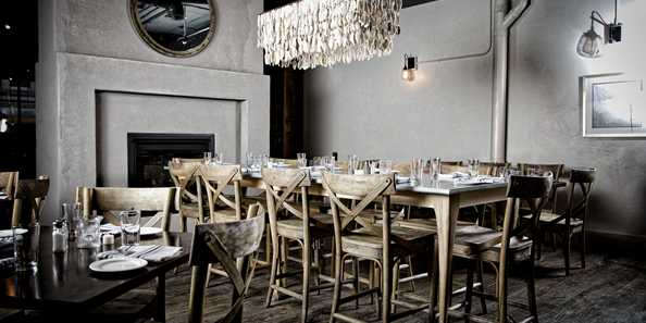 RYE Restaurant located inside the CopperLeaf Boutique Hotel