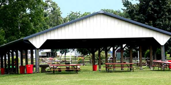 Pavilion at Viking Village Campground