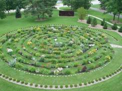 Image for Labyrinth Garden Earth Sculpture