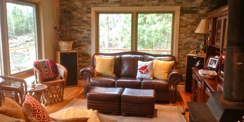 Living Room at Hauser's Bayfield Cabin