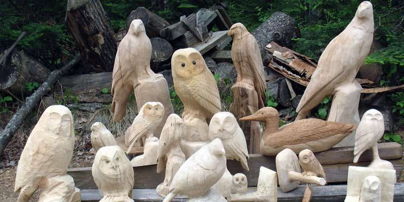 Wildlife in Wood-Works in Progress
