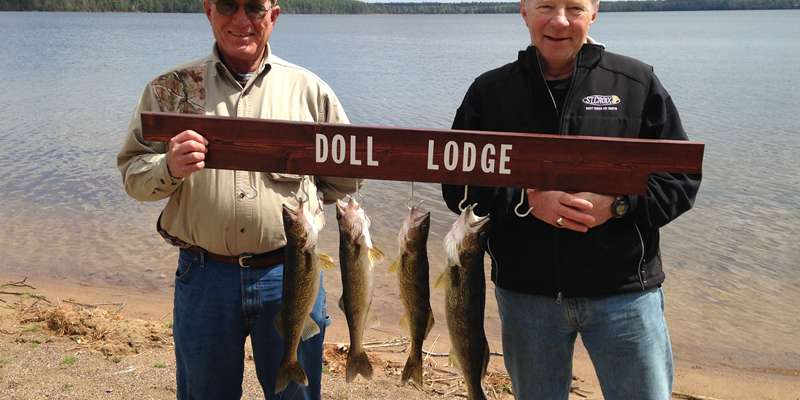 The fishing is fantastic at Doll Lodge
