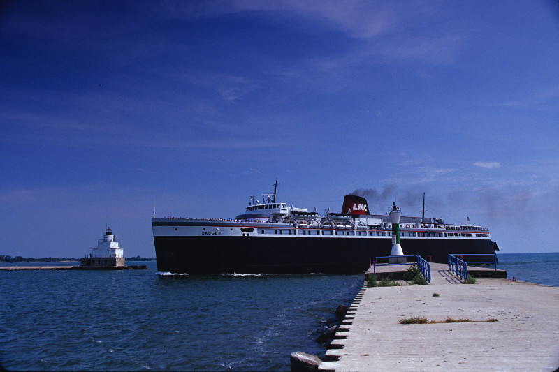 Lake Michigan Carferry Service Ss Badger Travel Wisconsin