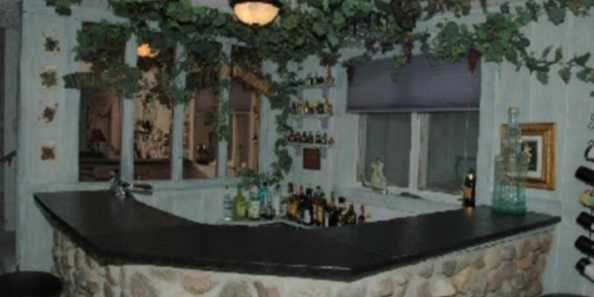 House of Angels- Wet Bar Area