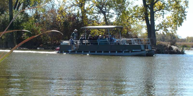 Out for a day of fun with Horicon Marsh Boat Tours