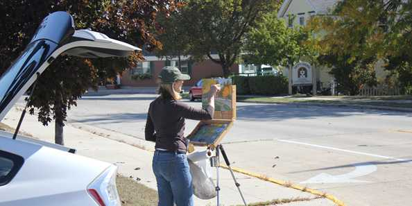 Annual event inviting Midwestern Artists to the Greater Plymouth area for a week-long Paint Out Competition.  Silent Auction and Free Gala Open to the Public.