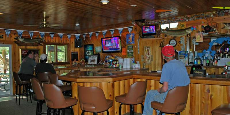 The Timbers Bar & Grill-Bar Area
