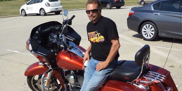 Harley 110th visitor from Alabama