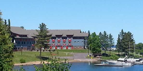 Legendary Waters Resort and Casino on Lake Superior.
