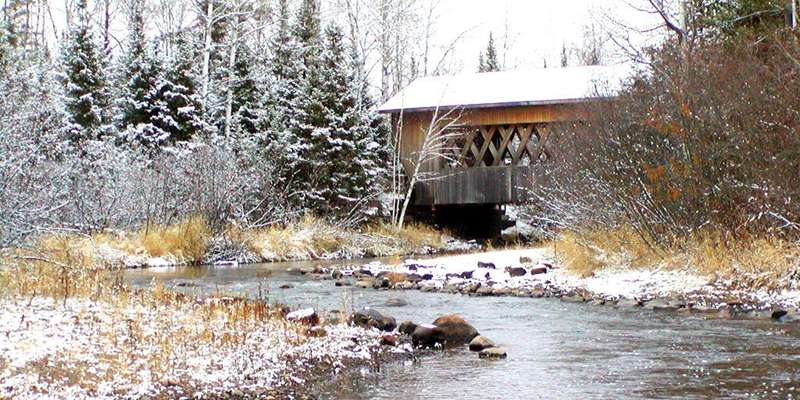 Smith Rapids Covered Bridge