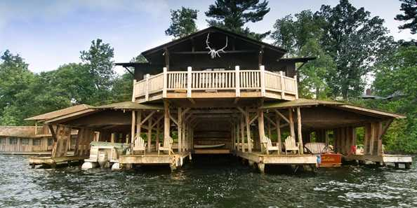Boat House: Your gateway to the Island of Happy Days.