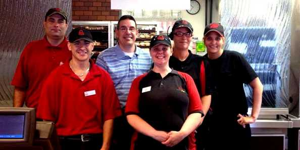 Arby's excellent staff awaits your order on U.S. Hwy. 2 in Ashland.