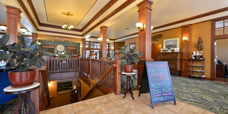 Come downstairs and join us for a cold drink at Molly Cooper's, inside the Hotel Chequamegon.