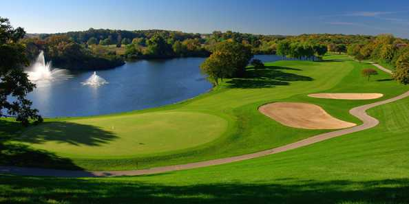 The Brute Golf Course is one 1 of 2 18-hole championship courses at Grand Geneva.