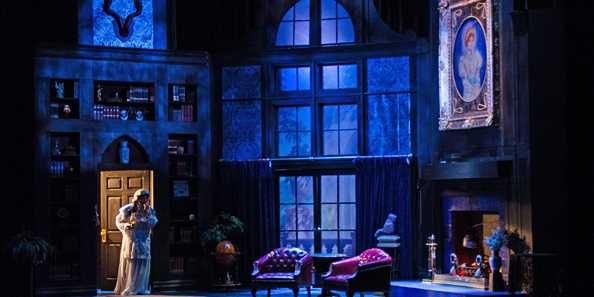 The Mystery of Irma Vep from the Peninsula Players 2014 season.
