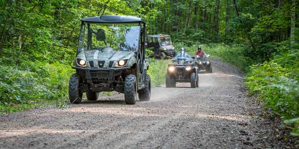 UTV & ATV Friendly Trails!