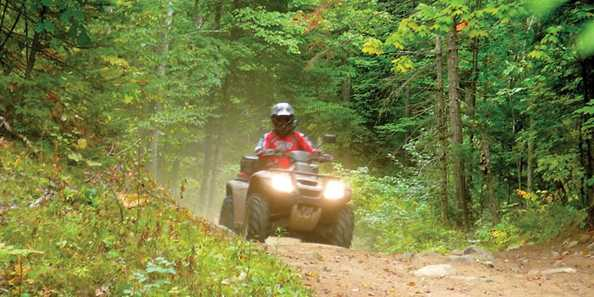 Sterling ATV Trail is 5.27 miles closed loop of fun!