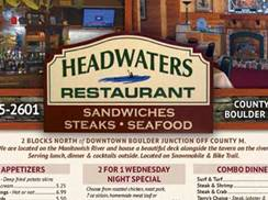 Image for Headwaters Restaurant & Tavern