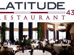 Image for Latitude 43 Restaurant at Blue Harbor Resort