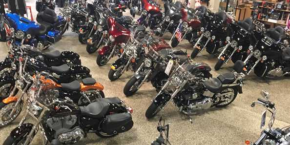 New and Pre-Owned Harley-Davidson Motorcycles!