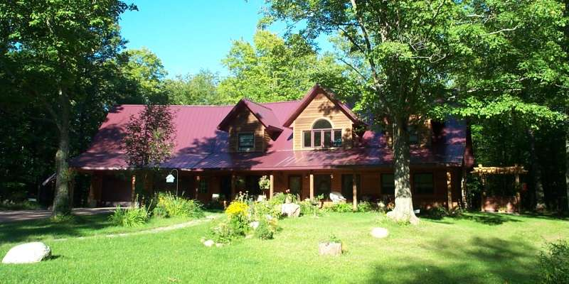 Penokee Mountain Inn is situated on 75 beautiful acres within walking distance of the North Country Trail and Chequamegon National Forest..