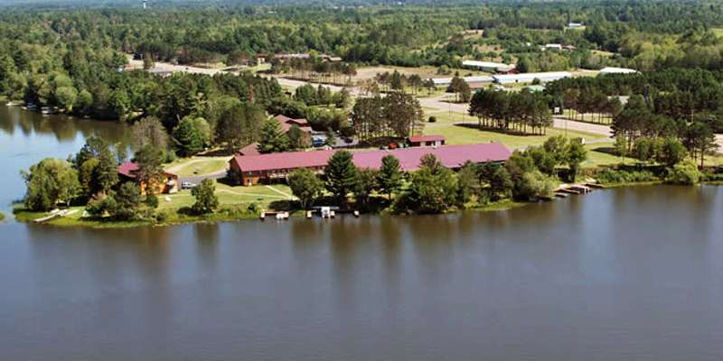 Eagle River Inn & Resort-Aerial View