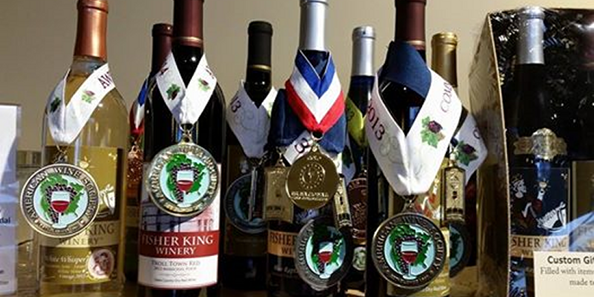 Fisher King Winery's award winning wines have earn Gold and Silver Medals in international competitions from California to New York.
