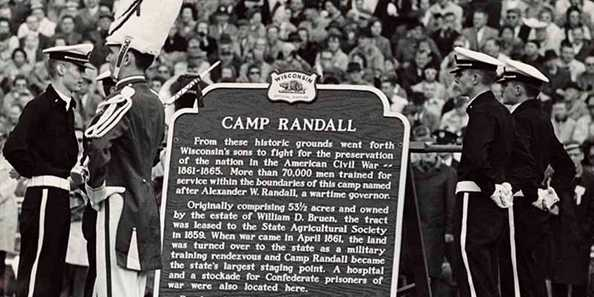Camp Randall Historical Marker
