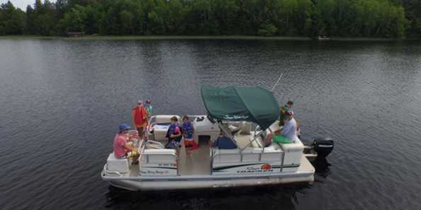 Rent one of our pontoons.. we'll deliver it to your vacation spot!
