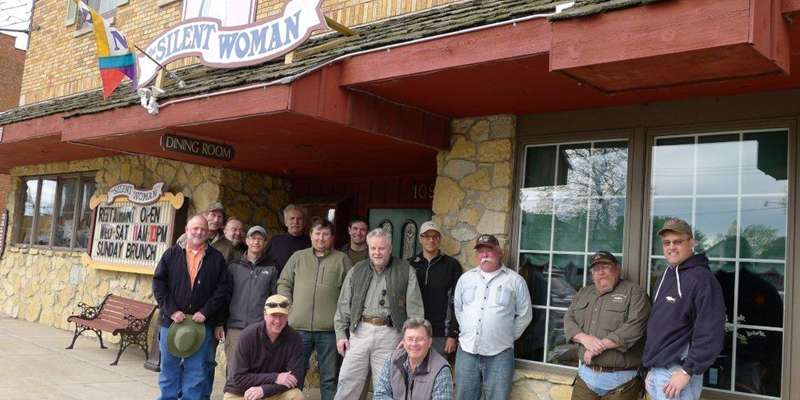 Trout Fishermen enjoy the lodging and Fenway Tavern a great place to talk about the trout who got away!