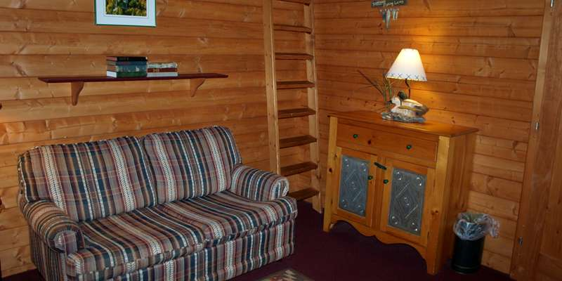 Relax in one of our cabins