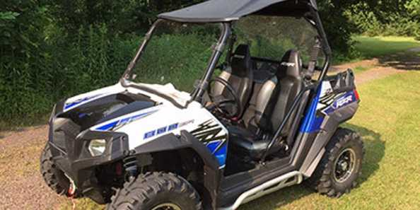 Rent one of our ATV's for fun on our award winning trail system!