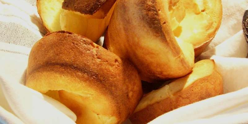 The Platter's famous homemade popovers have a distinctive fluffy, buttery taste that brings people back time and again.