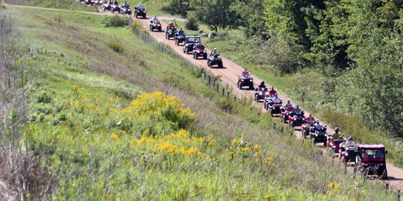 ATV Parade in Townsend, WI