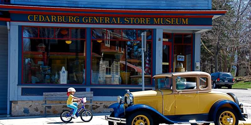 On the corner of Bridge and Washington, the General Store Museum and Visitor Center is the perfect first stop for visitors to the area.