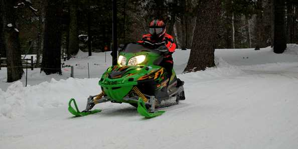 There are plenty of Snowmobile Trails to get out and enjoy!