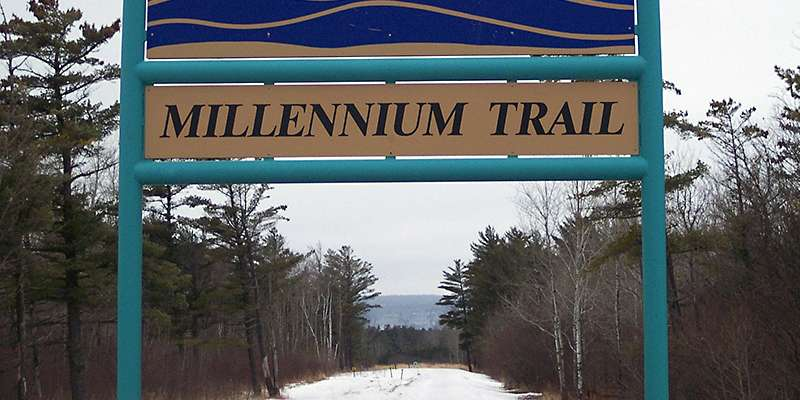 The Superior Municipal Forest is home to the Millennium Trail. Photo from the City of Superior.