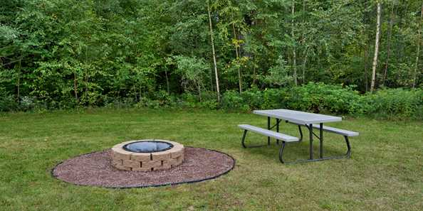 Outdoor Fire Ring for Guests