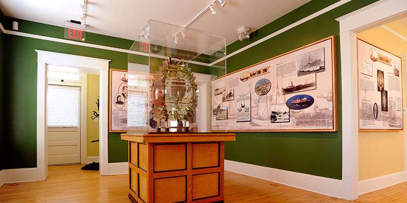 Inside the Southport Light Station Museum