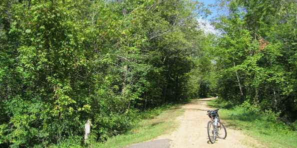 Ride or walk the Gandy Dancer Trail.