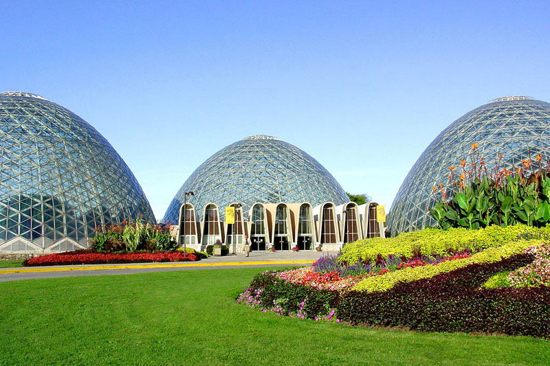 Mitchell Park Conservatory Domes Travel Wisconsin