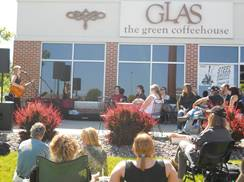 Image for Glas, The Green Coffeehouse