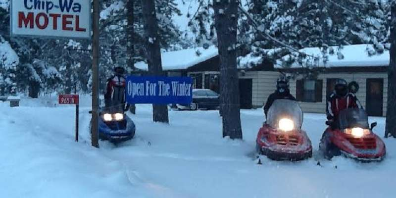 We're right next to Trail 18 for your next snowmobiling adventure!