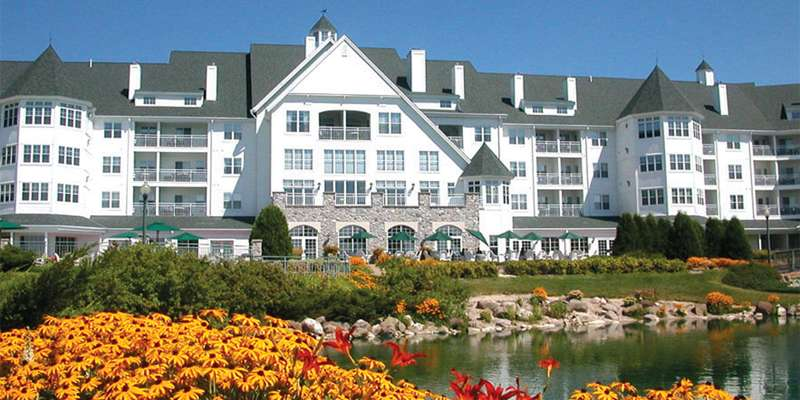 The Osthoff Resort located in Elkhart Lake, WI.