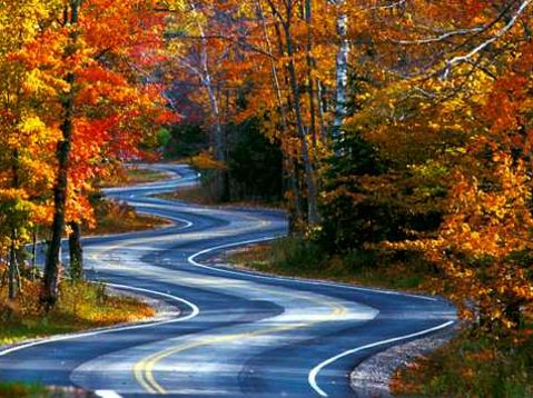 Fall Color Drives in Door County (OS - Fall)