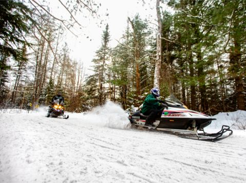 Snowmobiling (OS - Winter)