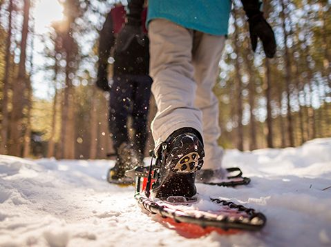 Great Snowshoeing Locations