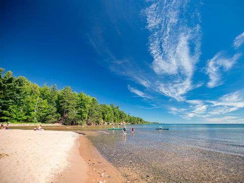 Ocean-Like Beaches in Wisconsin (W - Summer 19)